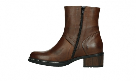 wolky ankle boots 01262 drayton 30430 cognac leather_13