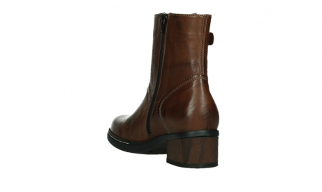 wolky ankle boots 01262 drayton 30430 cognac leather_17