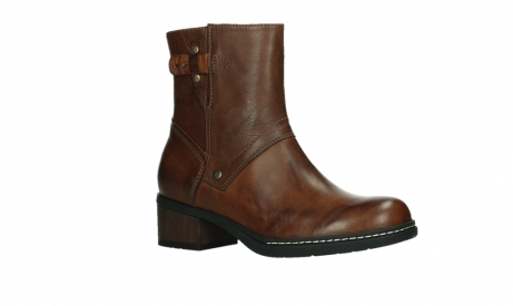 wolky ankle boots 01262 drayton 30430 cognac leather_3