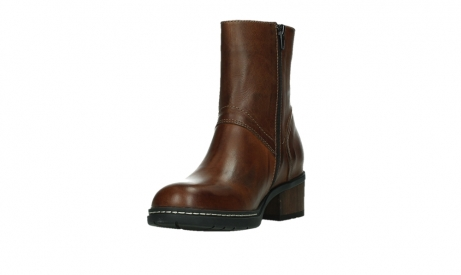 wolky ankle boots 01262 drayton 30430 cognac leather_9