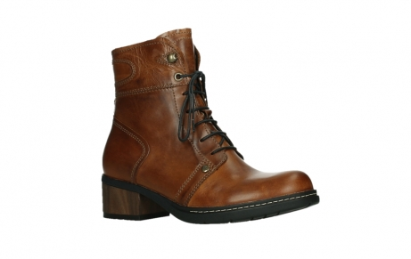 wolky ankle boots 01263 red deer cw 30430 cognac leather_3
