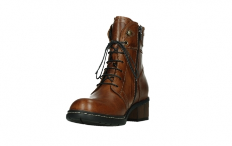 wolky ankle boots 01263 red deer cw 30430 cognac leather_9