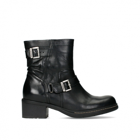 wolky ankle boots 01265 raymore 30000 black leather