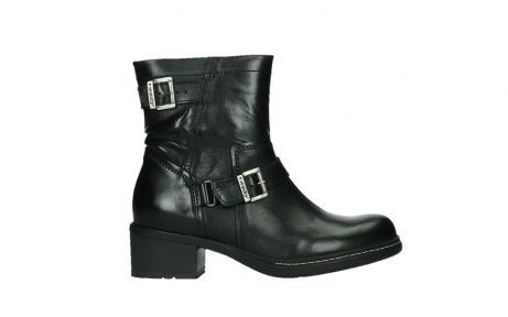 wolky ankle boots 01265 raymore 30000 black leather_1