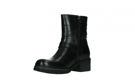 wolky ankle boots 01265 raymore 30000 black leather_10