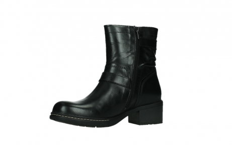 wolky ankle boots 01265 raymore 30000 black leather_11