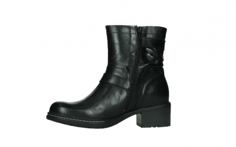 wolky ankle boots 01265 raymore 30000 black leather_12