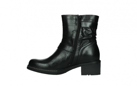 wolky ankle boots 01265 raymore 30000 black leather_13