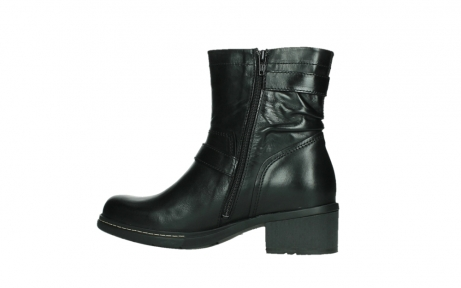 wolky ankle boots 01265 raymore 30000 black leather_14