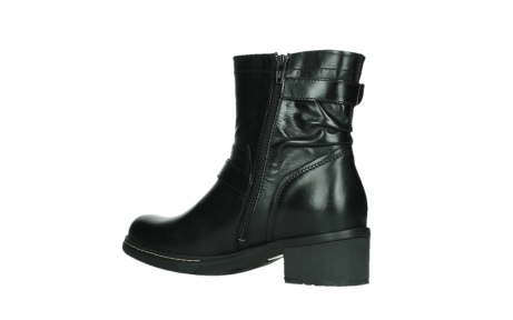 wolky ankle boots 01265 raymore 30000 black leather_15