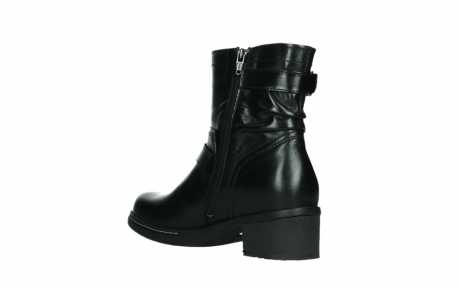 wolky ankle boots 01265 raymore 30000 black leather_16