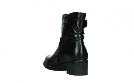 wolky ankle boots 01265 raymore 30000 black leather_17