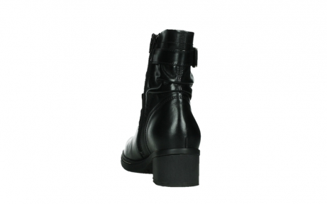 wolky ankle boots 01265 raymore 30000 black leather_18
