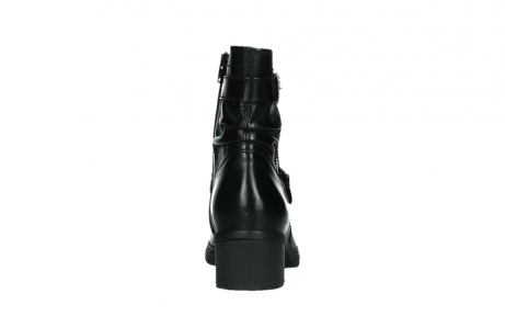 wolky ankle boots 01265 raymore 30000 black leather_19