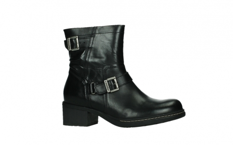 wolky ankle boots 01265 raymore 30000 black leather_2