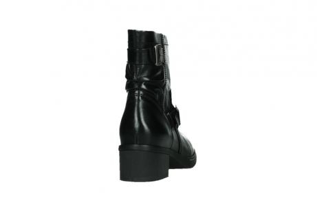wolky ankle boots 01265 raymore 30000 black leather_20