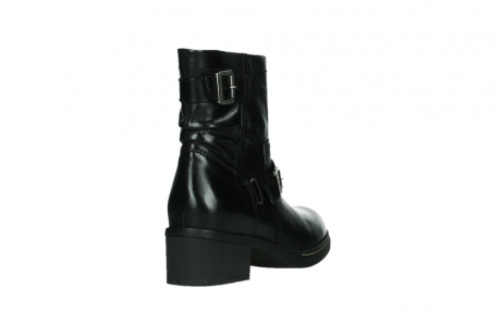 wolky ankle boots 01265 raymore 30000 black leather_21