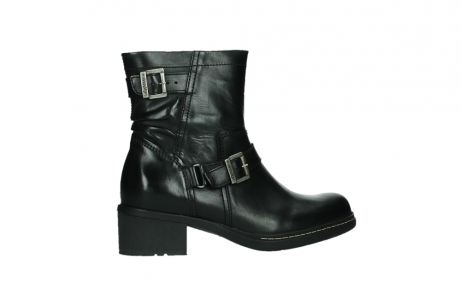 wolky ankle boots 01265 raymore 30000 black leather_24