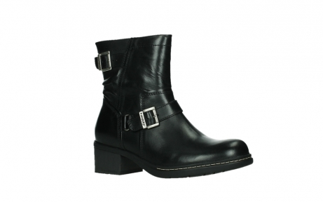 wolky ankle boots 01265 raymore 30000 black leather_3