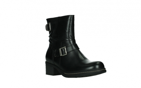wolky ankle boots 01265 raymore 30000 black leather_4