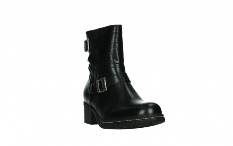 wolky ankle boots 01265 raymore 30000 black leather_5