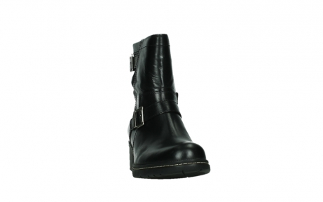 wolky ankle boots 01265 raymore 30000 black leather_6