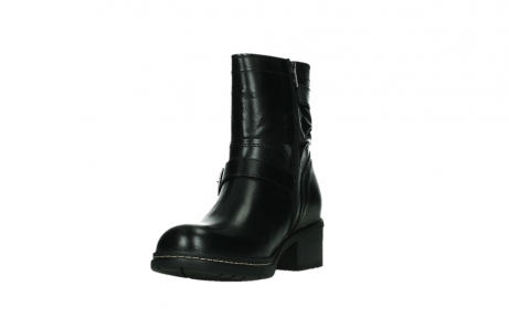 wolky ankle boots 01265 raymore 30000 black leather_9