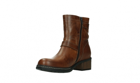 wolky ankle boots 01265 raymore 30430 cognac leather_10