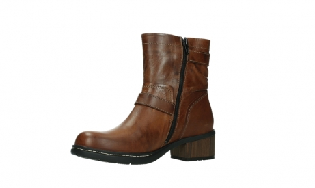 wolky ankle boots 01265 raymore 30430 cognac leather_11