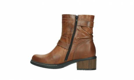 wolky ankle boots 01265 raymore 30430 cognac leather_14