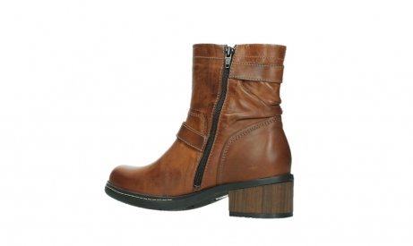 wolky ankle boots 01265 raymore 30430 cognac leather_15