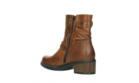 wolky ankle boots 01265 raymore 30430 cognac leather_16