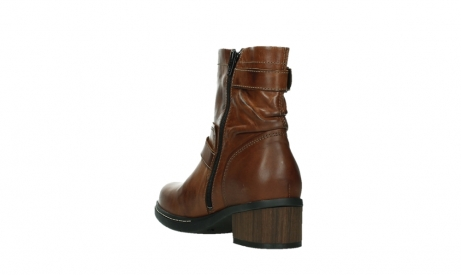 wolky ankle boots 01265 raymore 30430 cognac leather_17
