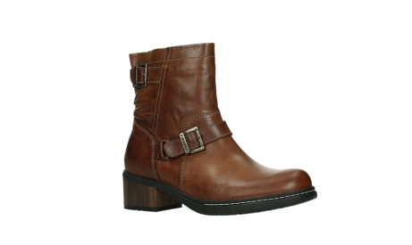 wolky ankle boots 01265 raymore 30430 cognac leather_3