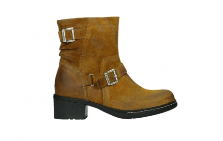 wolky ankle boots 01265 raymore 45925 dark ocher suede_1