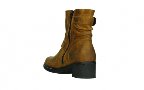 wolky ankle boots 01265 raymore 45925 dark ocher suede_17