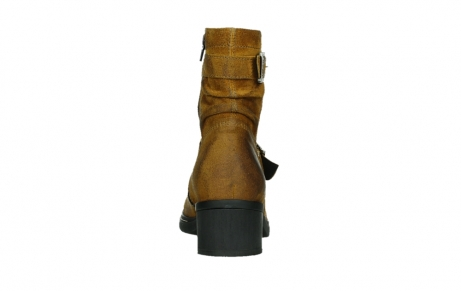 wolky ankle boots 01265 raymore 45925 dark ocher suede_19