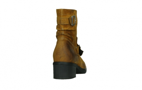 wolky ankle boots 01265 raymore 45925 dark ocher suede_20