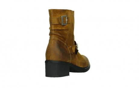 wolky ankle boots 01265 raymore 45925 dark ocher suede_21