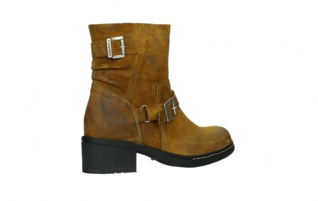 wolky ankle boots 01265 raymore 45925 dark ocher suede_23