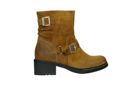 wolky ankle boots 01265 raymore 45925 dark ocher suede_24