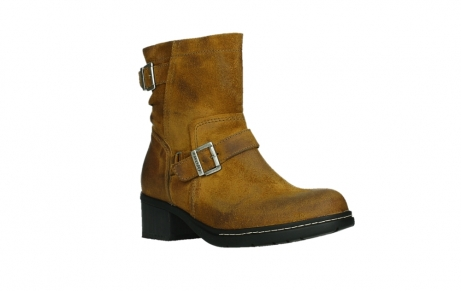 wolky ankle boots 01265 raymore 45925 dark ocher suede_4