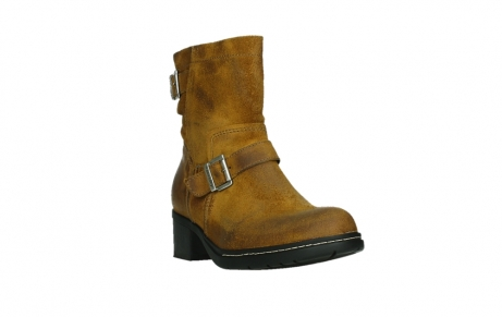 wolky ankle boots 01265 raymore 45925 dark ocher suede_5
