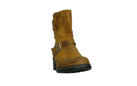 wolky ankle boots 01265 raymore 45925 dark ocher suede_6