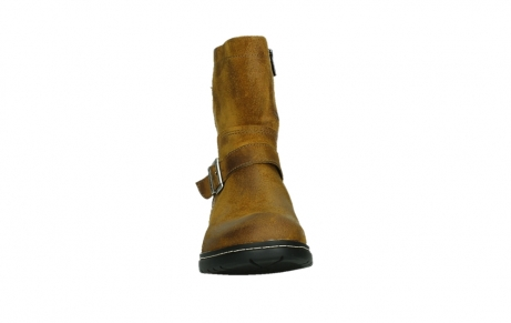 wolky ankle boots 01265 raymore 45925 dark ocher suede_7