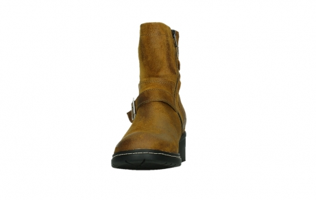 wolky ankle boots 01265 raymore 45925 dark ocher suede_8
