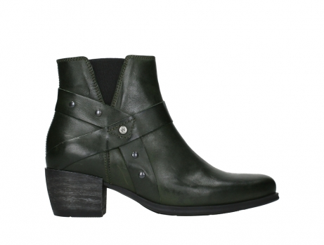 wolky ankle boots 02875 silio 30730 forest green leather_1