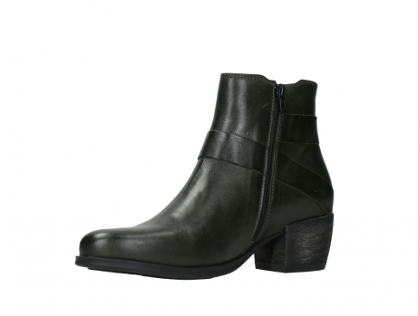wolky ankle boots 02875 silio 30730 forest green leather_11