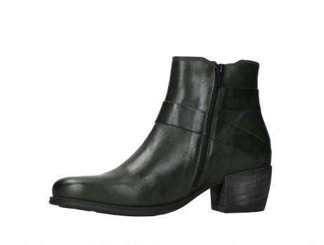 wolky ankle boots 02875 silio 30730 forest green leather_12