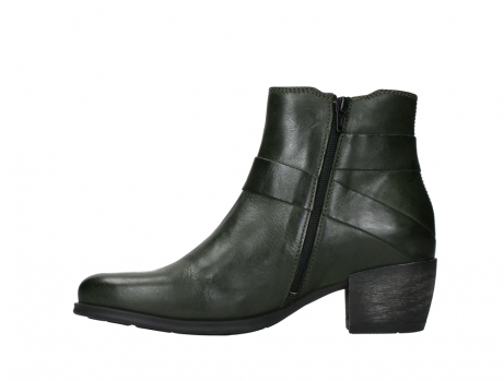 wolky ankle boots 02875 silio 30730 forest green leather_13
